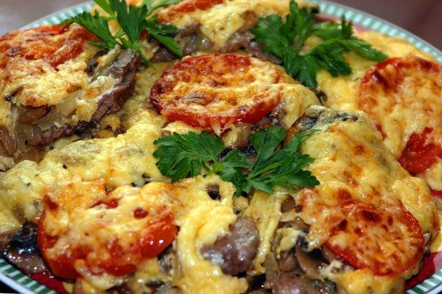 рецепт мяса по французски с фото: