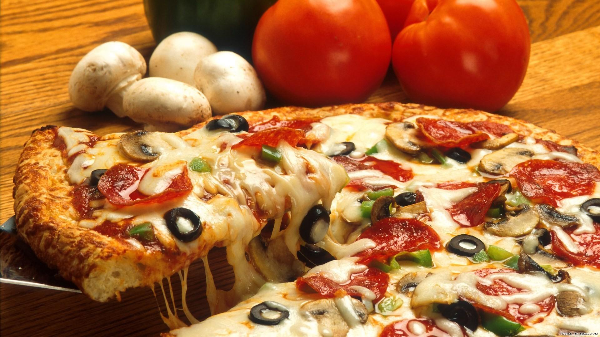 Как приготовить пиццу с грибами в