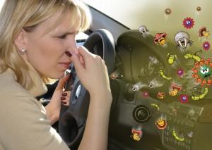 Избавиться от запаха в автомобиле