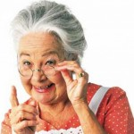 Помощь бабушки в воспитании внуков.