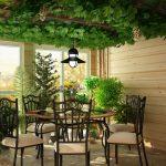 Зимний сад в загородном доме: рекомендации по обустройству